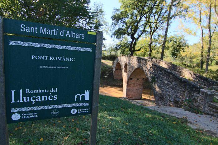 Visita al pont Medieval