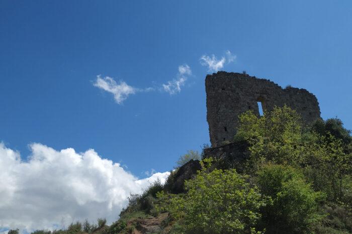 Pujada al Castell de Lluçà