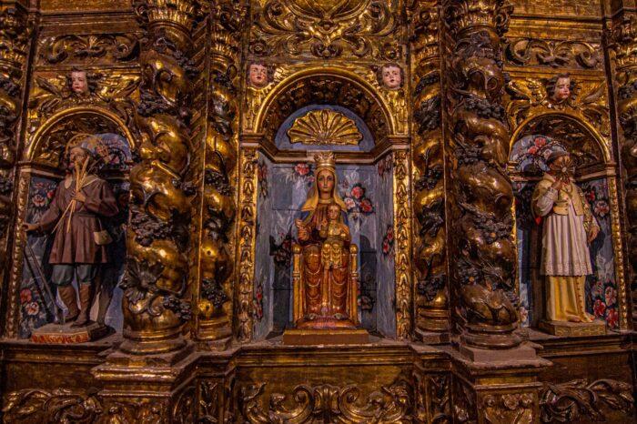 Retaules Barrocs de l'Església de Sant Boi de Lluçanès