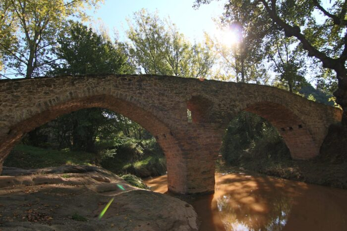Pont Medieval de Sant Martí d'Albars