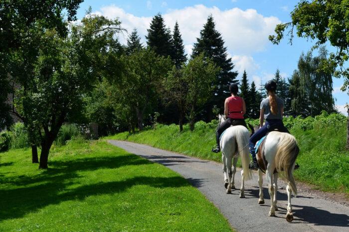 Ruta Olost amb cavall